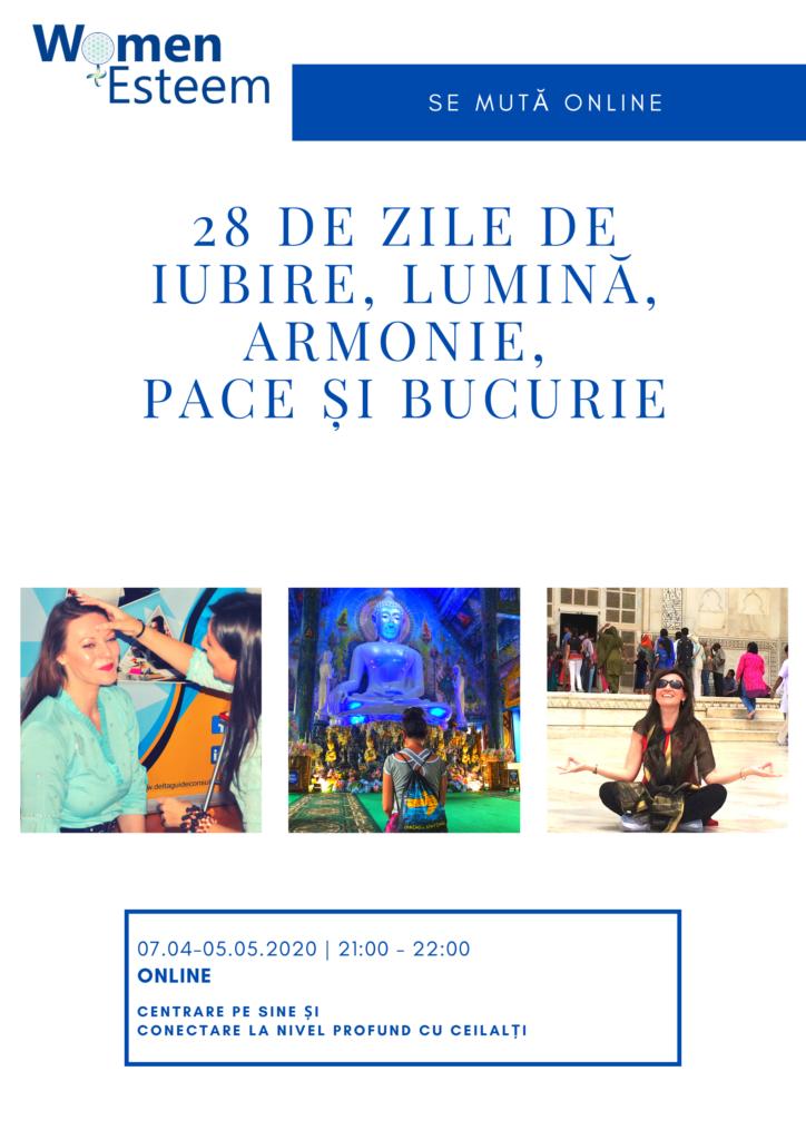 28 zile de Iubire_Lumină_Armonie_Pace_Bucurie